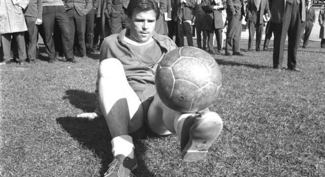 Puskás, em 1954