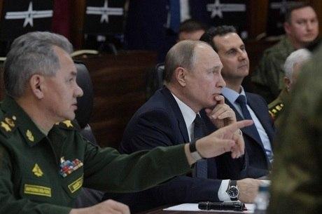Putin analisa cenário ao lado de Assad
