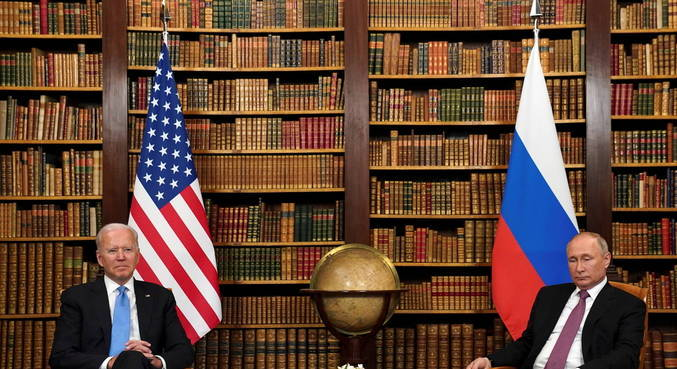 Presidentes entraram em acordo durante cúpula em Genebra