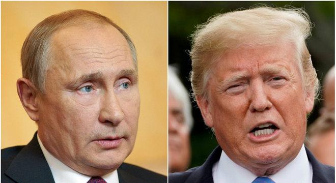 Vladimir Putin e Donald Trump conversaram nesta quinta pelo telefone
