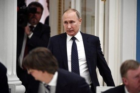 Putin discursou após supervisionar teste