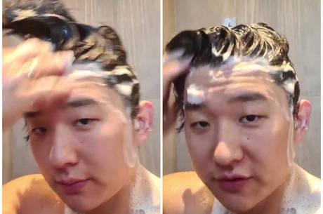 Pyong Lee reativa conta  no Instagram nesta sexta-feira (7)