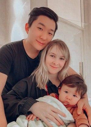 Pyong, Sammy e o filho do casal