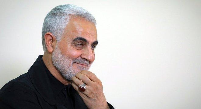 O general Qasem Soleimani comandava operações militares iranianas no Oriente Médio