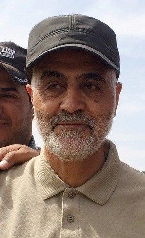Qassem Soleimani em foto de 2015