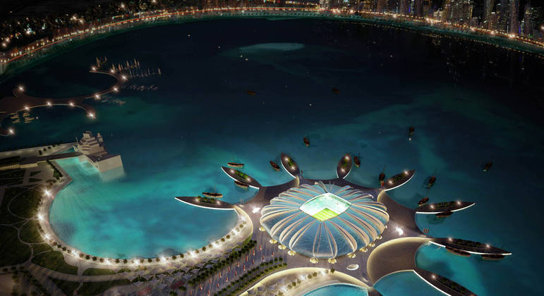 O espetacular Doha Port Stadium