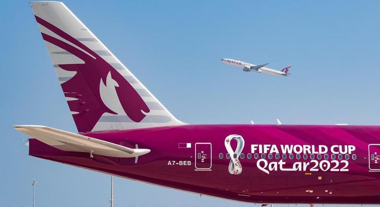 A caminho do Qatar