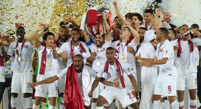 Com a base jovem, o Qatar conseguiu o título inédito da Copa da Ásia, em 2019