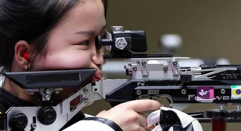 Qian Yang, China, medalha, ouro, tiro esportivo feminino, Olimpíada, Tóquio 2020
