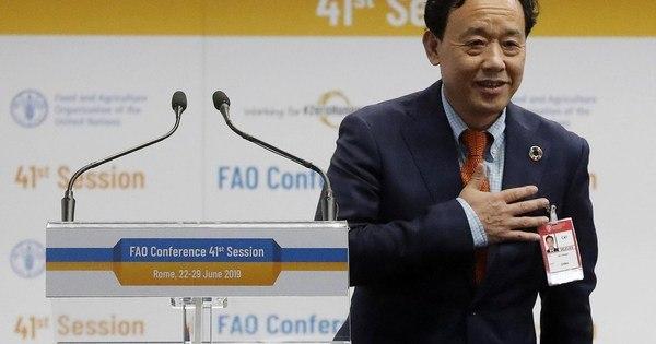 Chinês substitui brasileiro na ONU para comandar órgão de agricultura