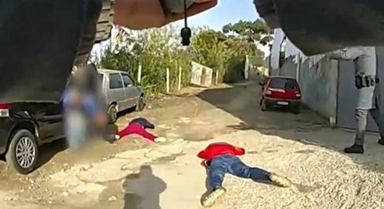 Quadrilha é presa ao fazer vítima de sequestro-relâmpago