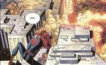 Outra imagem da HQ especial do Homem-Aranha no 11 de Setembro