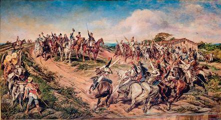 Quadro Independência ou Morte, de Pedro Américo