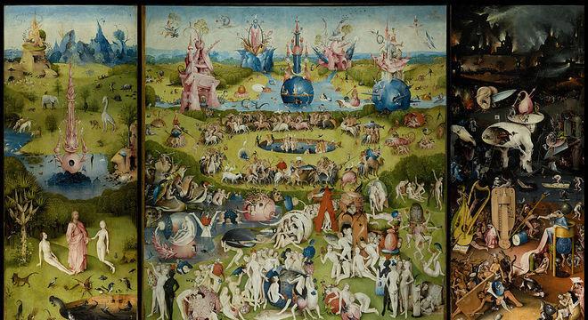 Obra-prima de Bosch mostra negros 'representados entre dezenas de outros indivíduos nus, sem nenhuma desonra aparente'