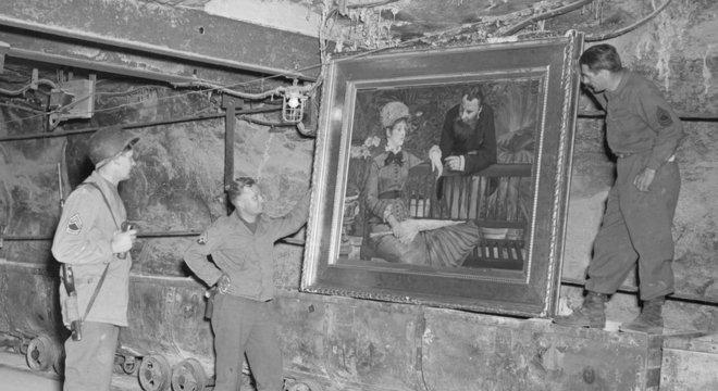 Quadro do impressionista Edouard Manet descoberto em Merkers Um tesouro perdido