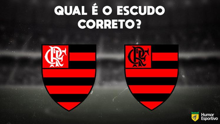 Qual desses é o escudo do Flamengo? Veja a resposta na próxima imagem!