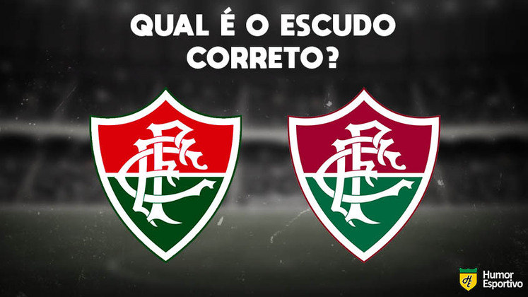 Qual desses é o escudo do Fluminense? Veja a resposta na próxima imagem!