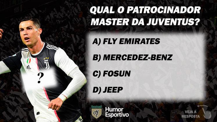 Qual o patrocinador master da Juventus?