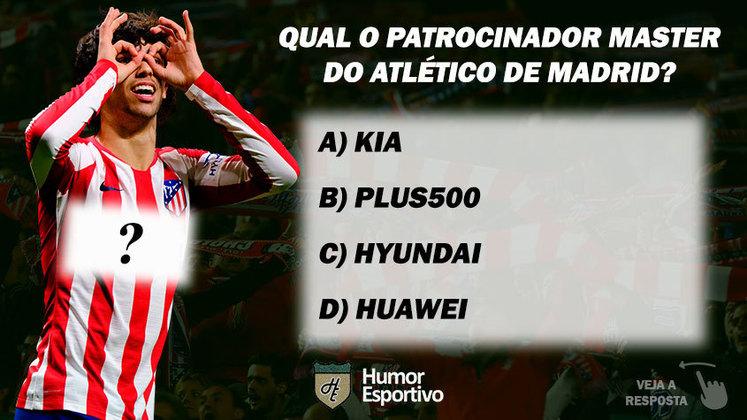 Qual o patrocinador master do Atlético de Madrid?
