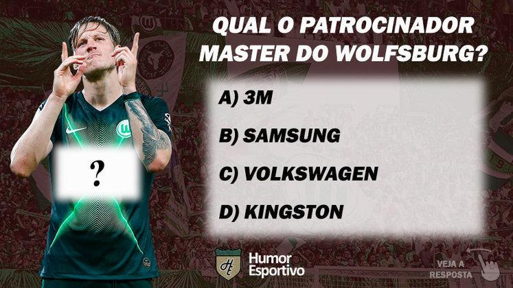 Qual o patrocinador master do Wolfsburg?