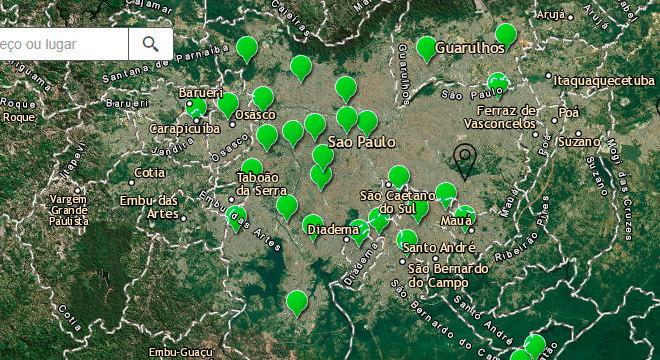 Todas as estações de monitoramento apontavam boa qualidade do ar nesta segunda (28)