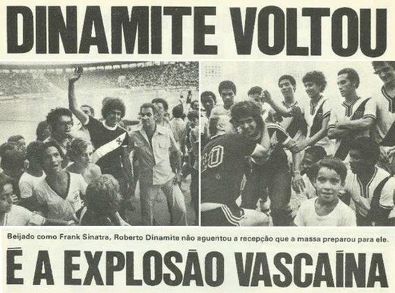 Quando defendia o Barcelona, teve uma proposta do Flamengo, do então presidente Márcio Braga. No entanto, o Vasco entrou na jogada e o coração falou mais alto, reforçando a identificação do ídolo com o o clube da Cruz de Malta.