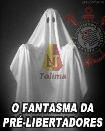 Quando o Corinthians se classificou para a pré-Libertadores 2015, as lembranças com o Tolima Day fizeram sucesso