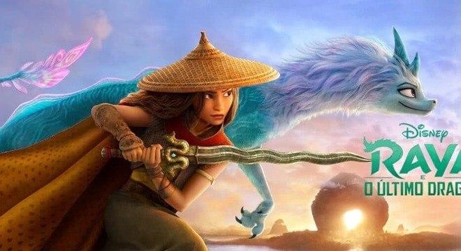 Quando Raya e o Último Dragão poderá ser visto sem custo adicional no Disney+?