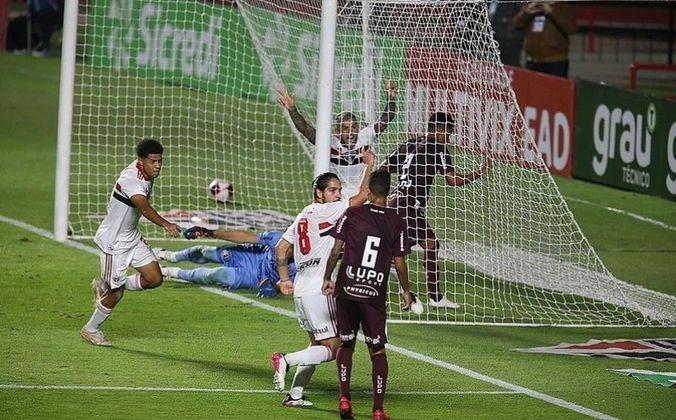Quartas de final: São Paulo 4 x 2 Ferroviária (Morumbi - 14/05/2021) - Gols do São Paulo: Gabriel Sara (1 x 0), Liziero (2 x 0), Igor Vinícius (2 x 1) e Pablo (4 x 1)