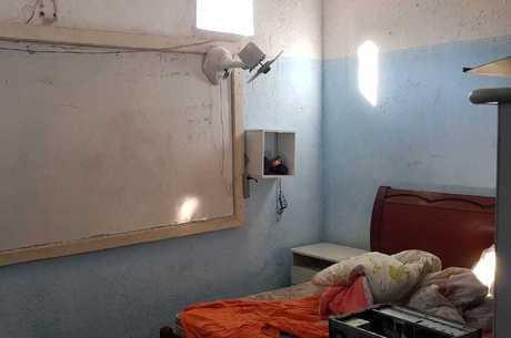 Criminoso foi preso em uma escola desativada