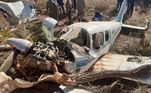 Aeronave cai e deixa feridos no interior de Mato GrossoVEJA MAIS
