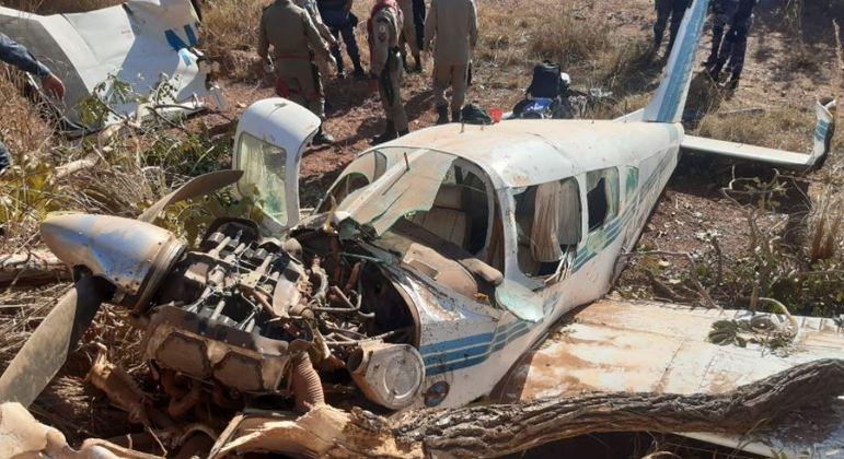 Aeronave cai na cidade de Poconé, em Mato Grosso, após pane seca