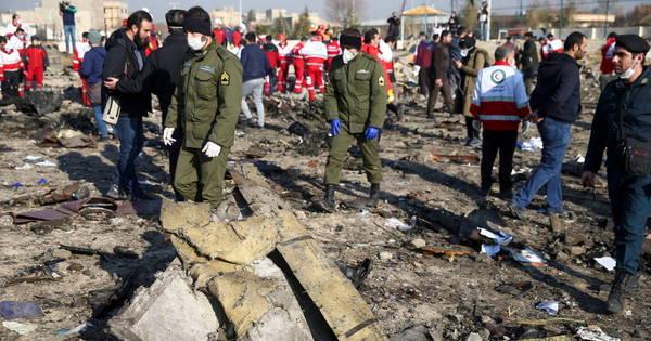 Iran wants to extract black box data from crashed Ukrainian plane