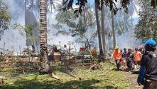Filipinas: sobe para 45 o número de mortos em queda de avião militar