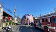 Em feriado, aumentam os registros de queda de balão em São Paulo