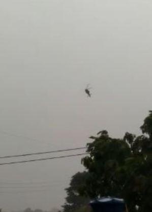 Queda de helicóptero do Exército deixa um morto no Amazonas