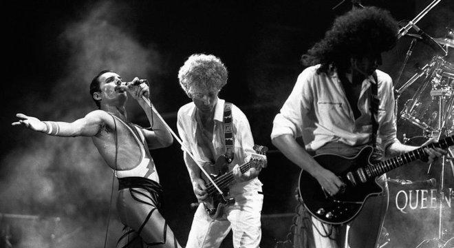 A lendária banda de rock britânica foi formada em Londres em 1970