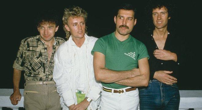 Queen no Brazil em 1985
