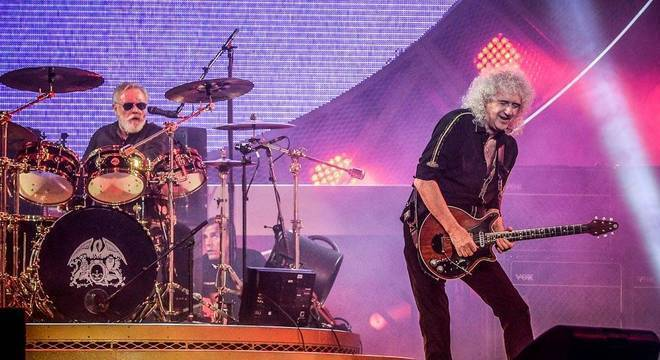 Roger Taylor e Brian May são os integrantes remanescentes do Queen