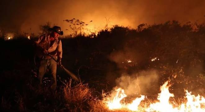 Queimadas no Pantanal colocam em risco a saúde da população