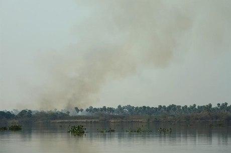 Região registra incêndios há uma semana