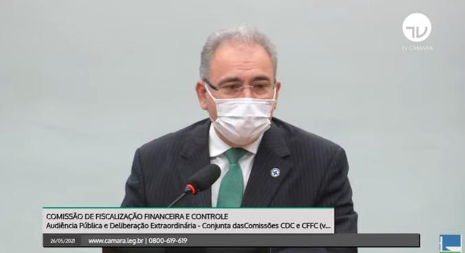 Marcelo Queiroga participou da comissão de fiscalização financeira nesta quarta