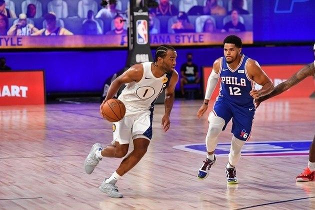 Quem, em sã consciência, apostaria em T.J. Warren (Indiana Pacers) como o primeiro jogador a superar os 50 pontos na fase de jogos na Flórida? Warren anotou 53, melhor marca da carreira, convertendo nove arremessos de três em 12 tentativas. Warren foi trocado, em julho do ano passado pelo Phoenix Suns para o Pacers por um valor em dinheiro