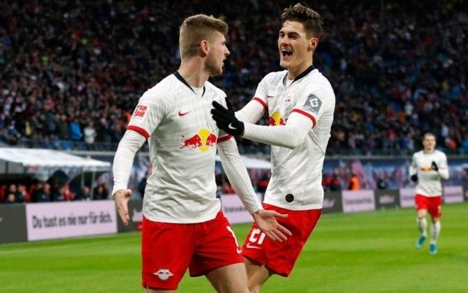Quem também surpreendeu na Liga dos Campeões foi o RB Leipzig, da Alemanhã. O clube também se classificou para as quartas de final pela primeira vez na história, ao eliminar o Tottenham de José Mourinho.