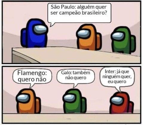 Quem vai ficar com o título do Brasileirão? Disputa indefinida inspira memes na web