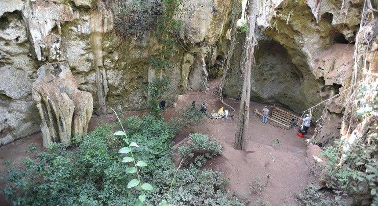 Túmulo foi encontrado em uma caverna no sul do Quênia