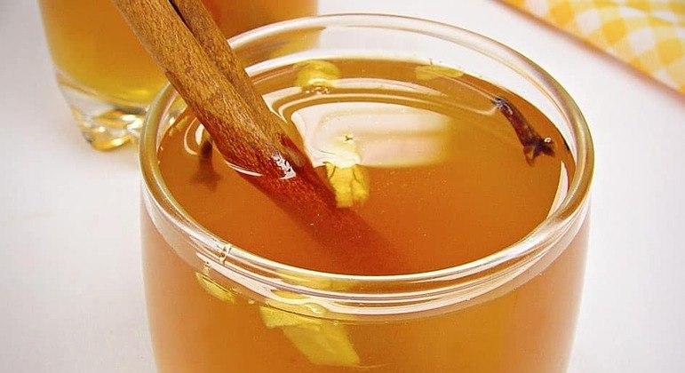 Quentão de mel