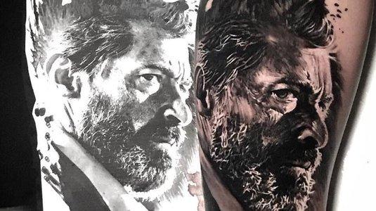 Queria tatuar o Wolverine, mas ficou parecendo o Lula