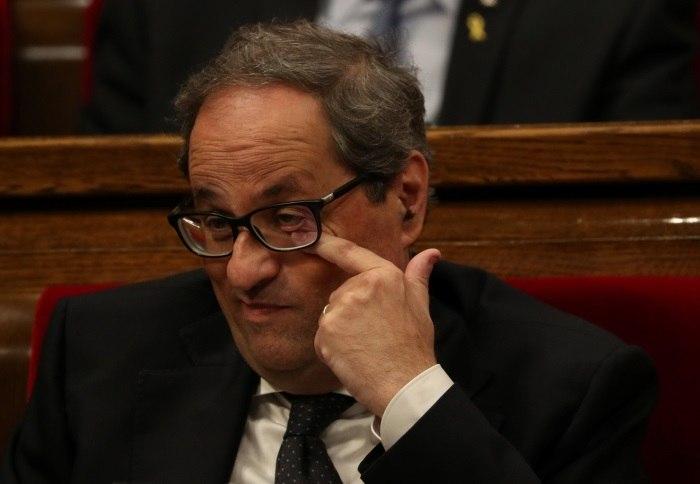 Parlamento elege Quim Torra como novo presidente da Catalunha