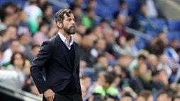 Espanyol demite técnico Sánchez Flores. David Gallego vai assumir comando do time  ()
